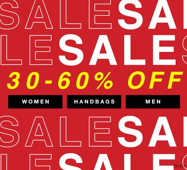 Sale: 30 - 60% Off