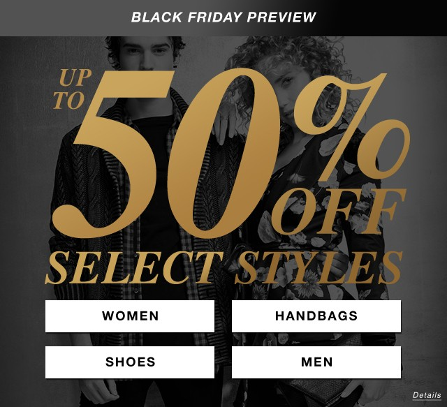 Preview Black Friday