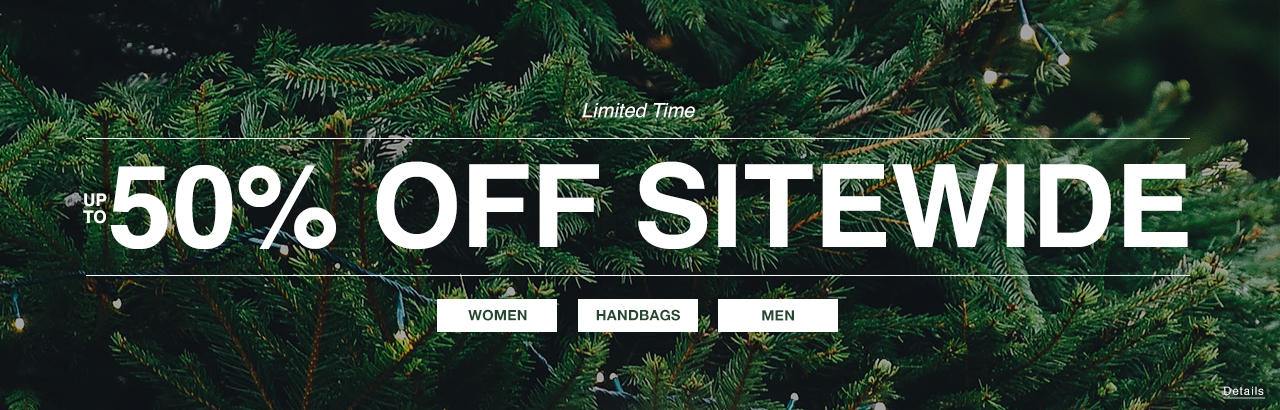 50 Off Sitewide