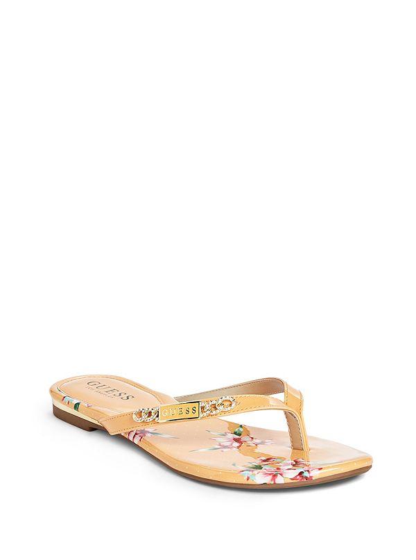 6c783e38a1e7 Christal Flip Flops