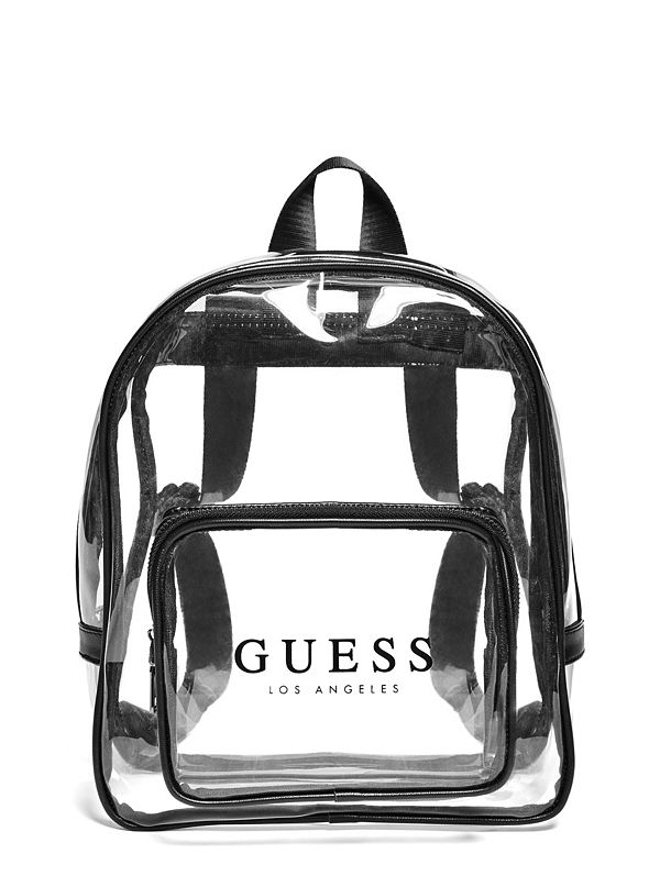 39aca36719d4 Clear Logo Backpack