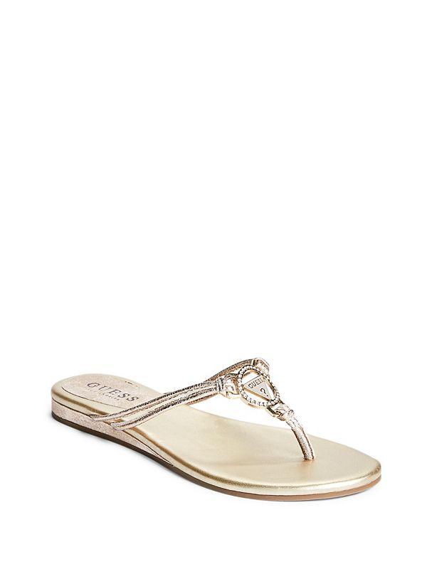 1bee6163484aa Joinin Logo Thong Sandals
