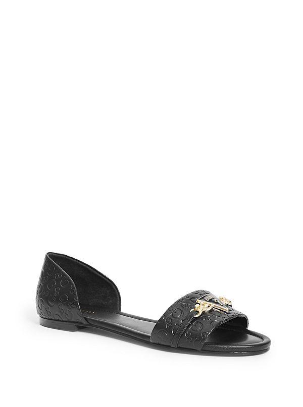 7cf905eae96150 Lace Flat Sandals