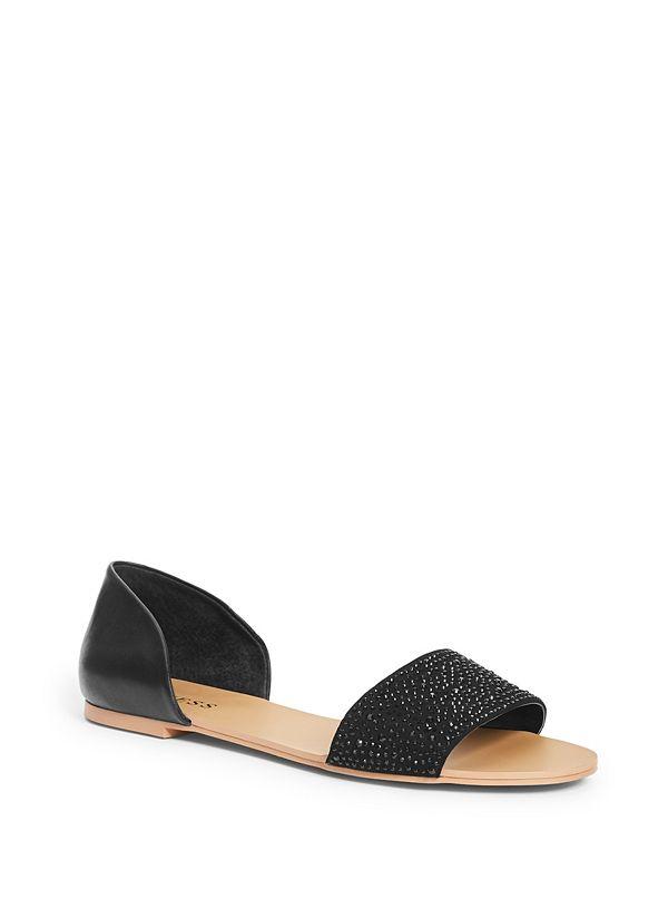 d85abdcab360e Lace Flat Sandals