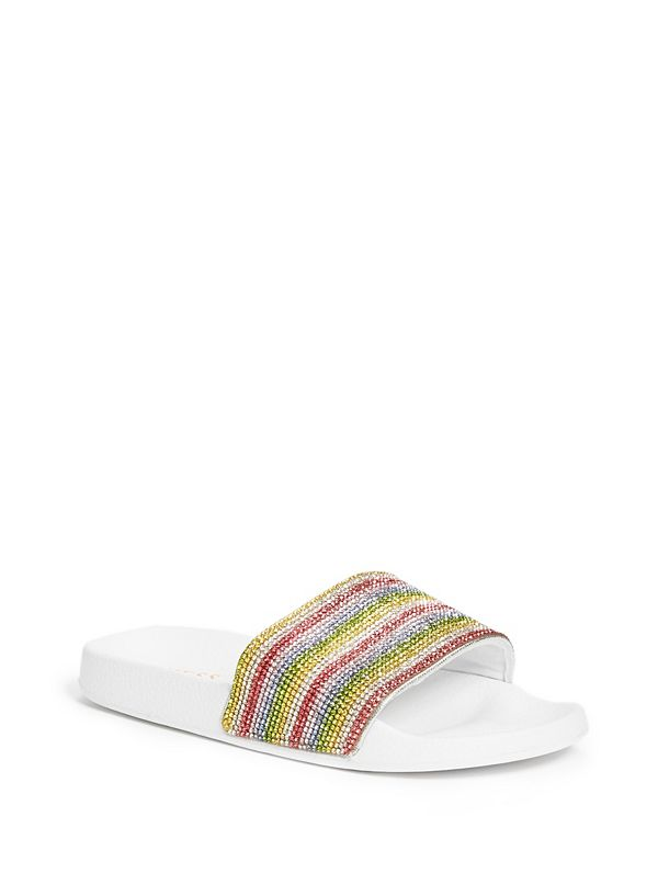 b368088fd5c Love Rainbow Slide Sandals