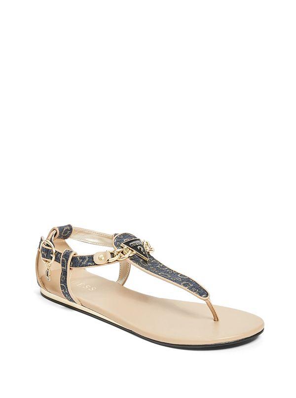 5dc7afe12fe Siara Logo Sandals