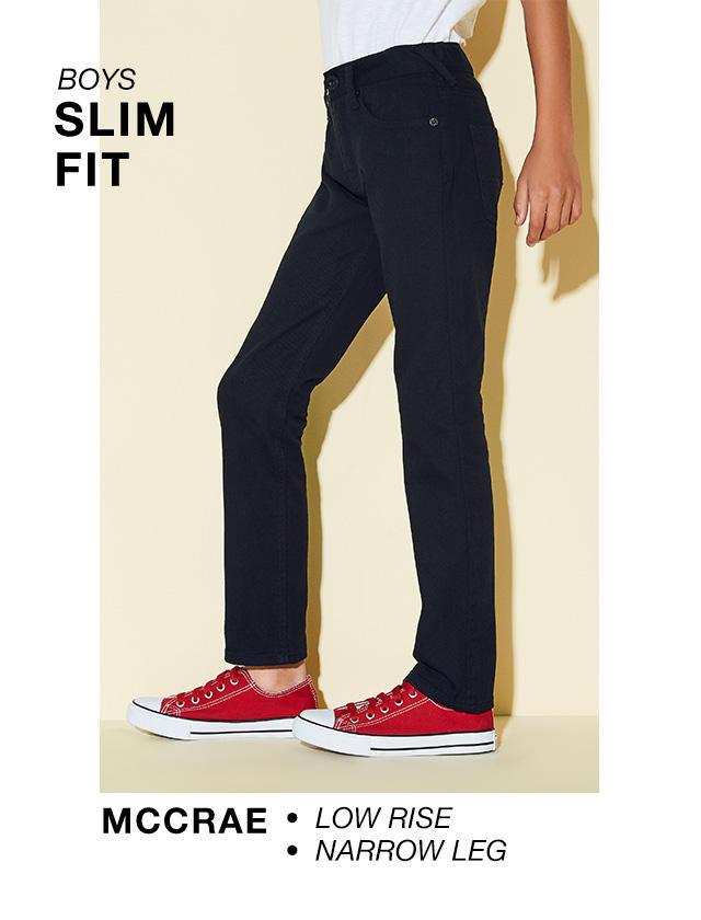Boys Slim Fit: Mccrae