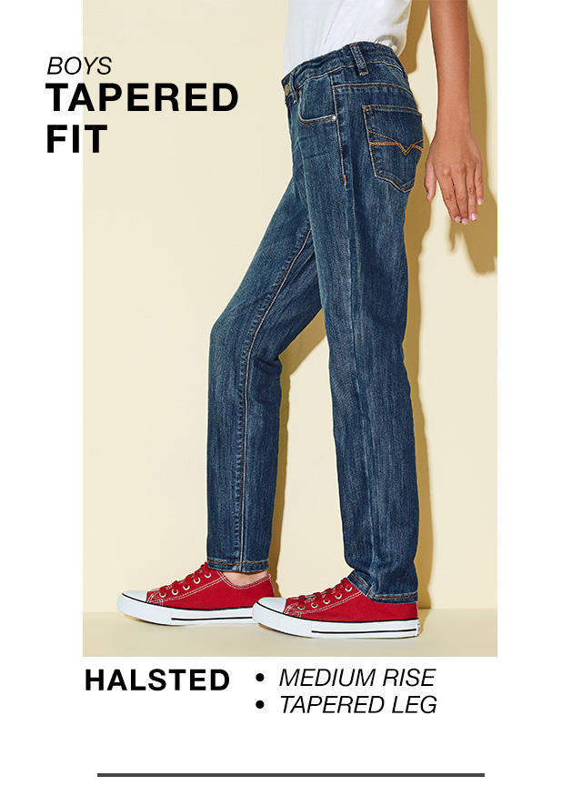 Boys Tapered Fit: Halsted