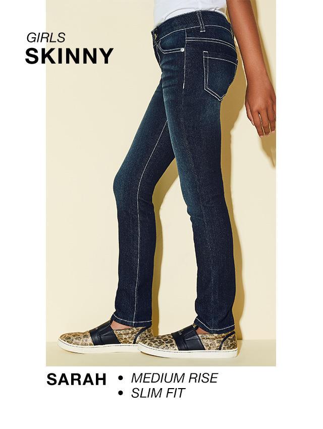 Girls Skinny: Sarah