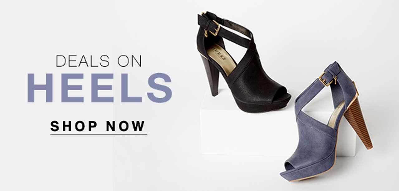 Deals on heels