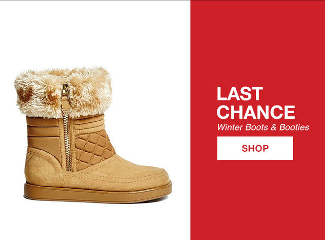 Last Chance: Boots & Booties