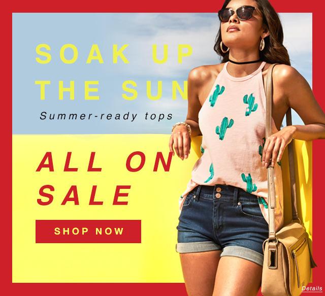 Summer-ready Tops