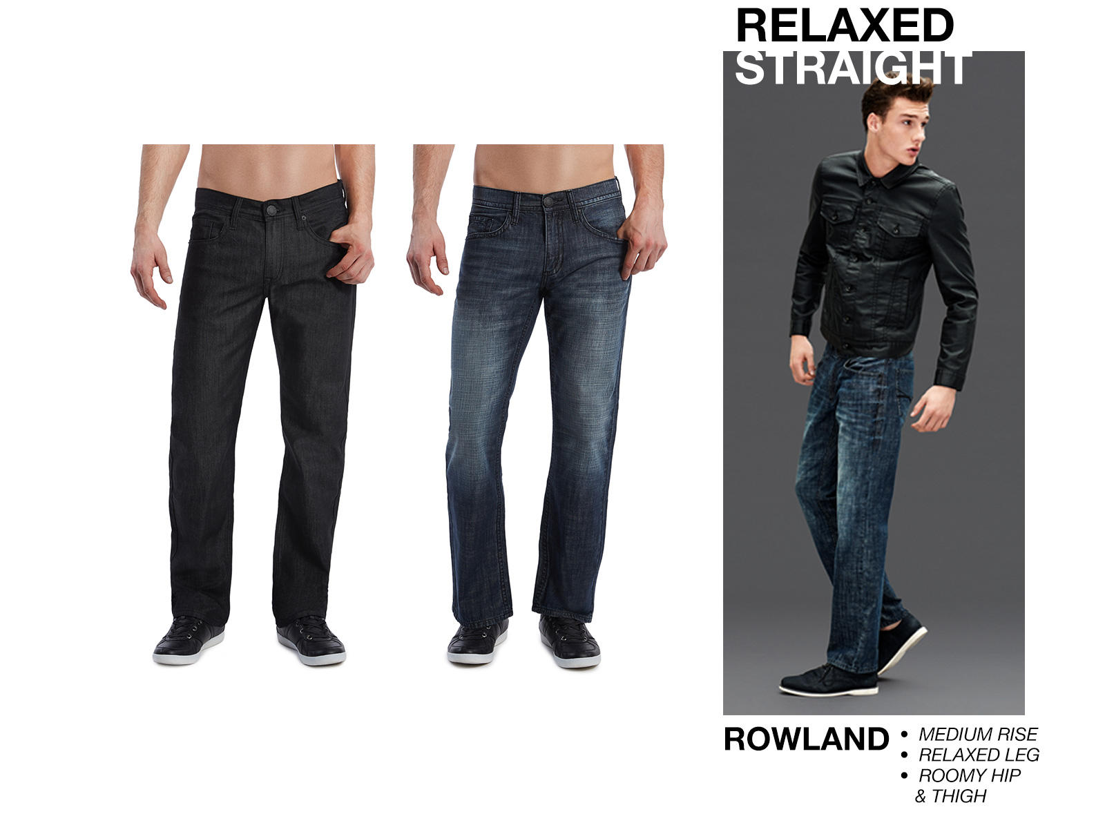 Relaxed Straight Denim