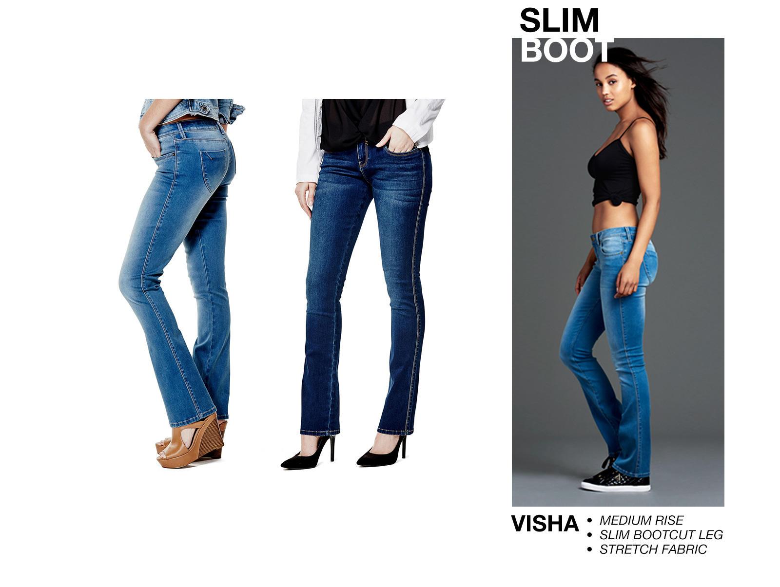 Slim Boot Denim
