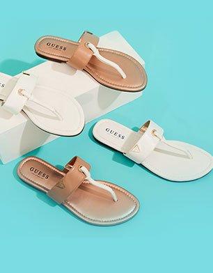 Sandals start at $24.99