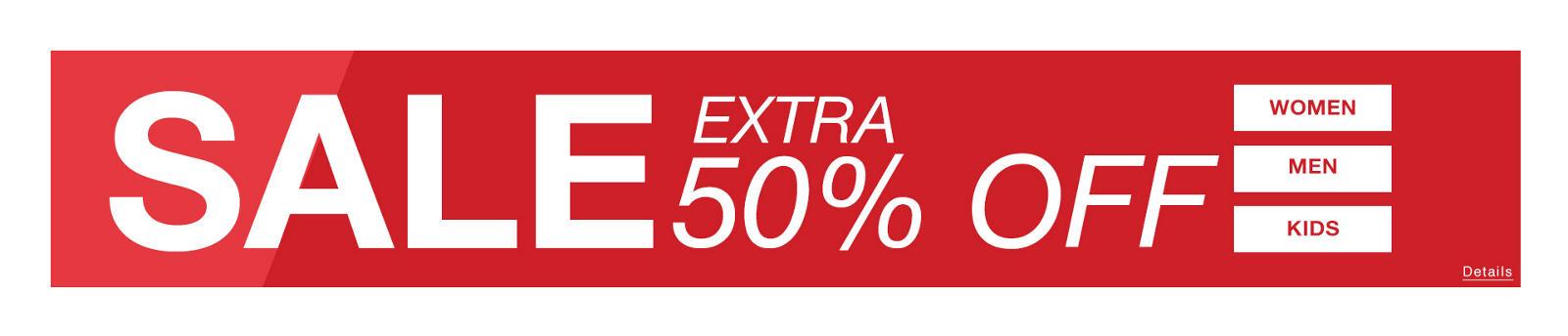 50% - 60% Off