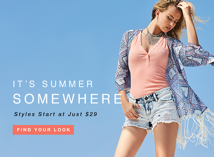 It's Summer Somewhere: Styles Start at Just $29