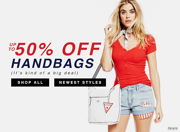 Handbags Select Styles Up to 50% Off