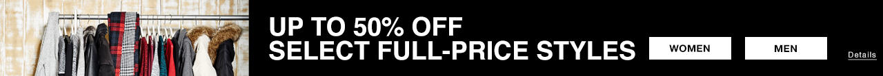 Up to 50 Off Sitewide