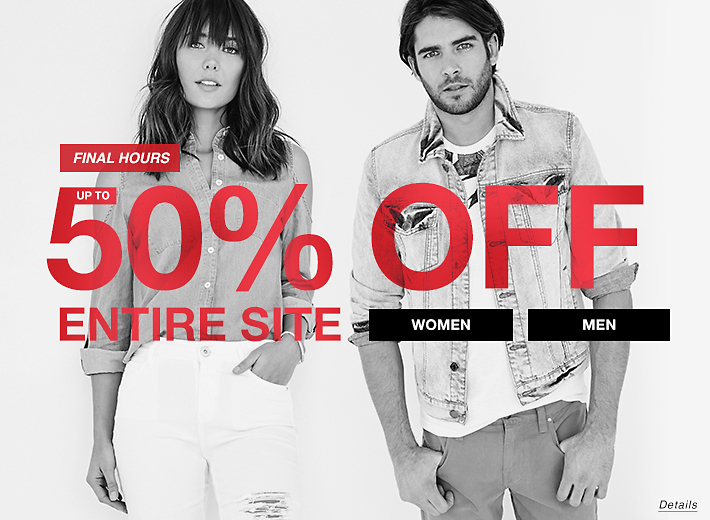 Up to 50 Off Entire Site