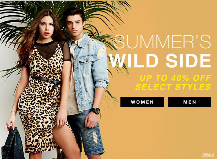 Select Styles 40% Off