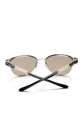 Guess Half Frame Glasses : Round Half-Frame Sunglasses GbyGuess.com