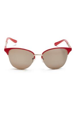 Round Half-Frame Sunglasses GbyGuess.com