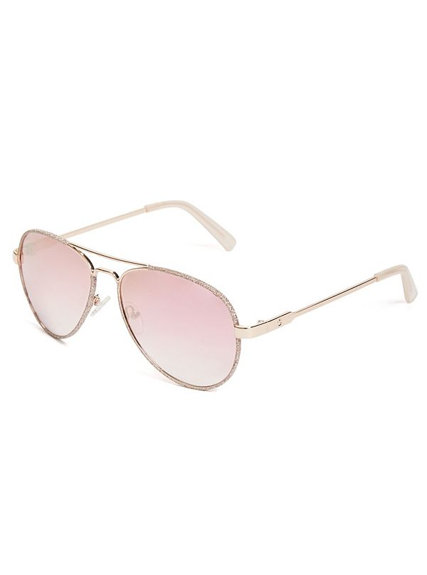 89434249d099 Glitter Aviator Sunglasses