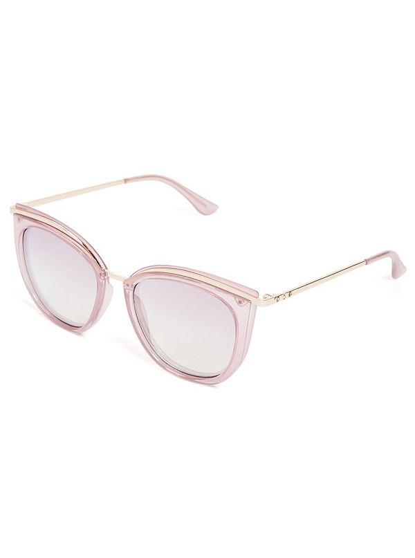 a42c90b8bdbe6 Metallic Cat-Eye Sunglasses