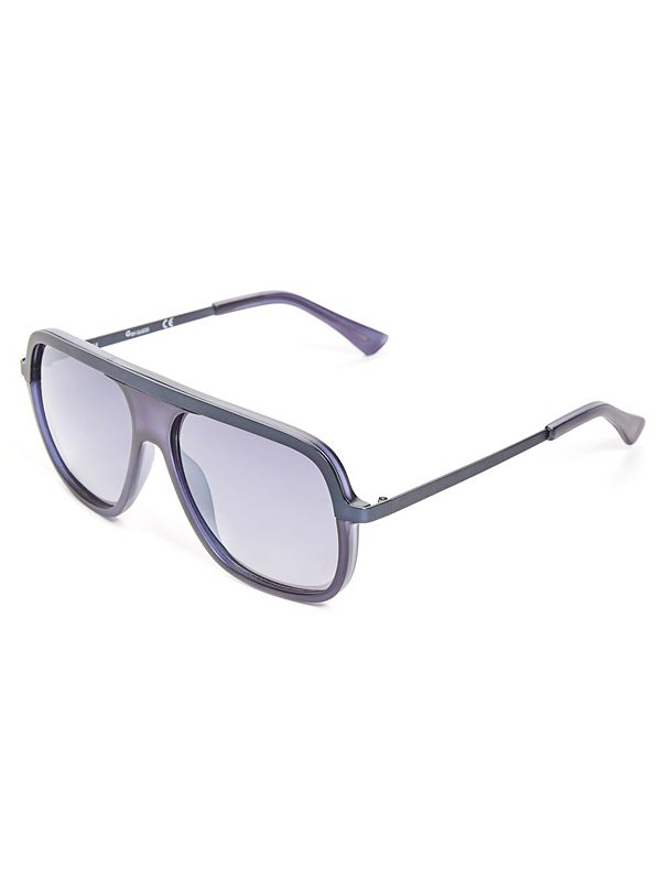 da6614cb0605 Metal Bar Navigator Sunglasses