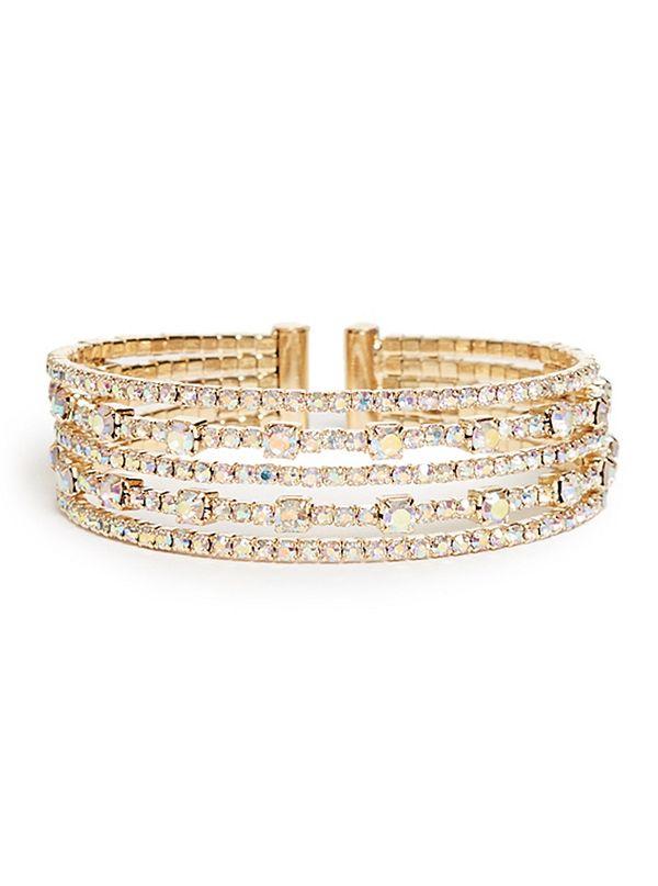 de1f5eff33c ... Stacked Flexi Cuff Bracelet. GG739529BG-GOLD-ALT1. GG739529BG-GOLD