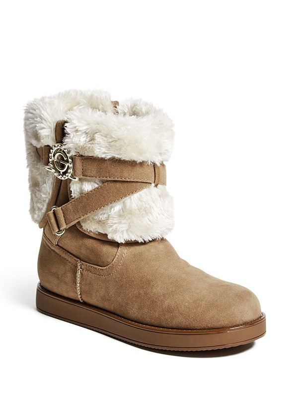 Faux Fur Shoe Boots