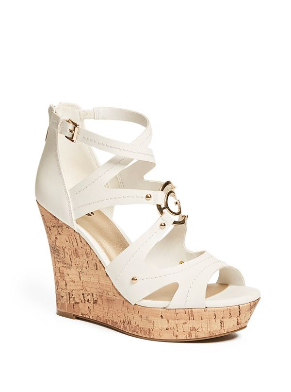 0387821462e7 Darra Logo Cork Wedges