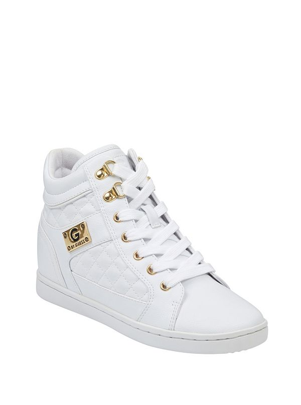 80270e3ecddd Dayna Quilted Wedge Sneakers