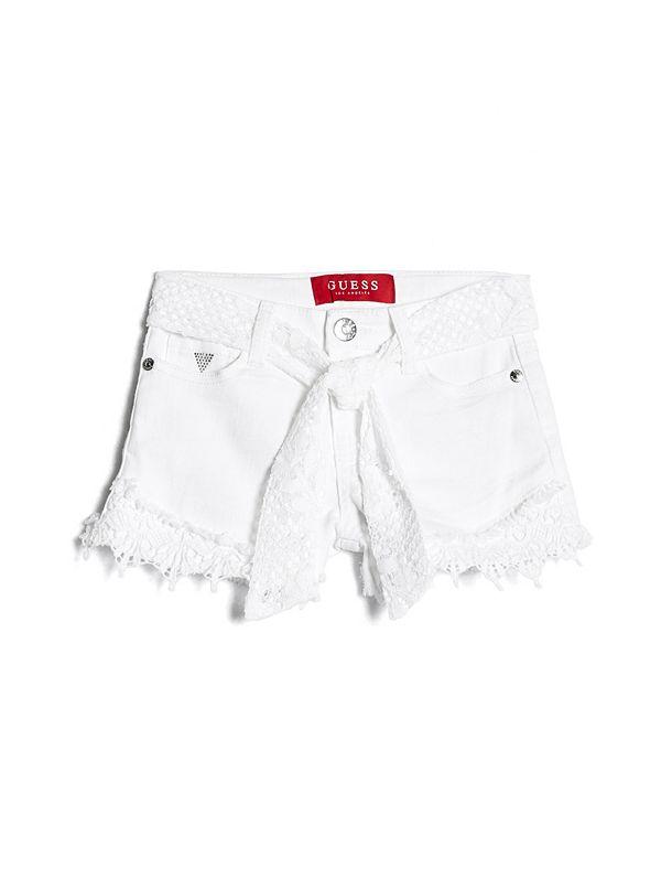 e80b31cf88 Violet Crochet-Trim Denim Shorts (2-6)