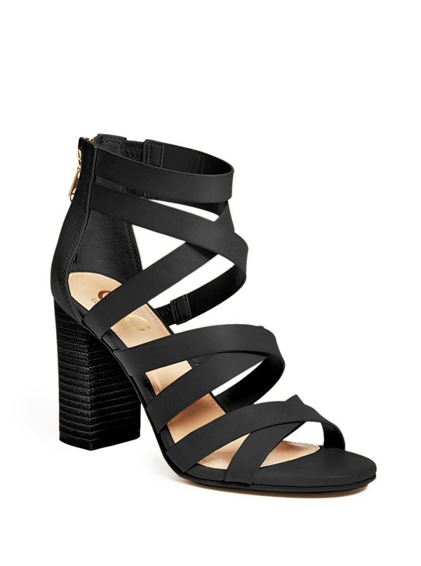 511b988578 Marnie Strappy Faux-Leather Heels
