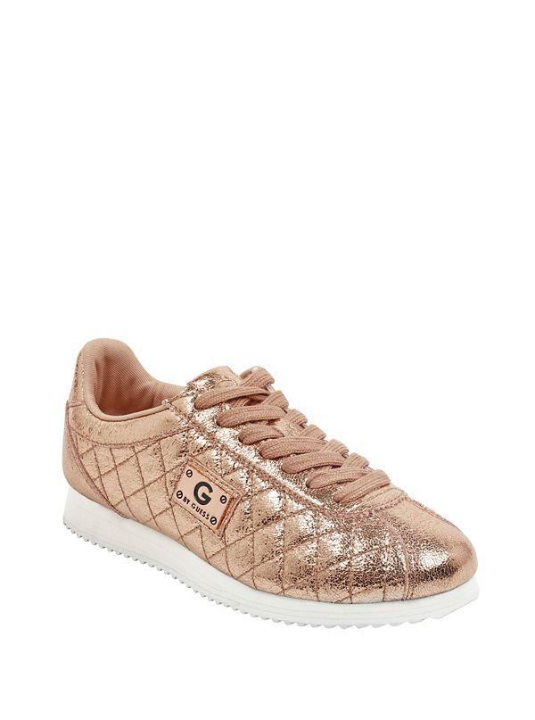 77e0fffd5ef GGROMIO. Sale · Romio Metallic Quilted Sneakers