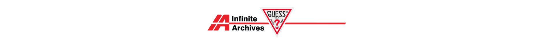 GUESS Jeans USA Infinite Archives