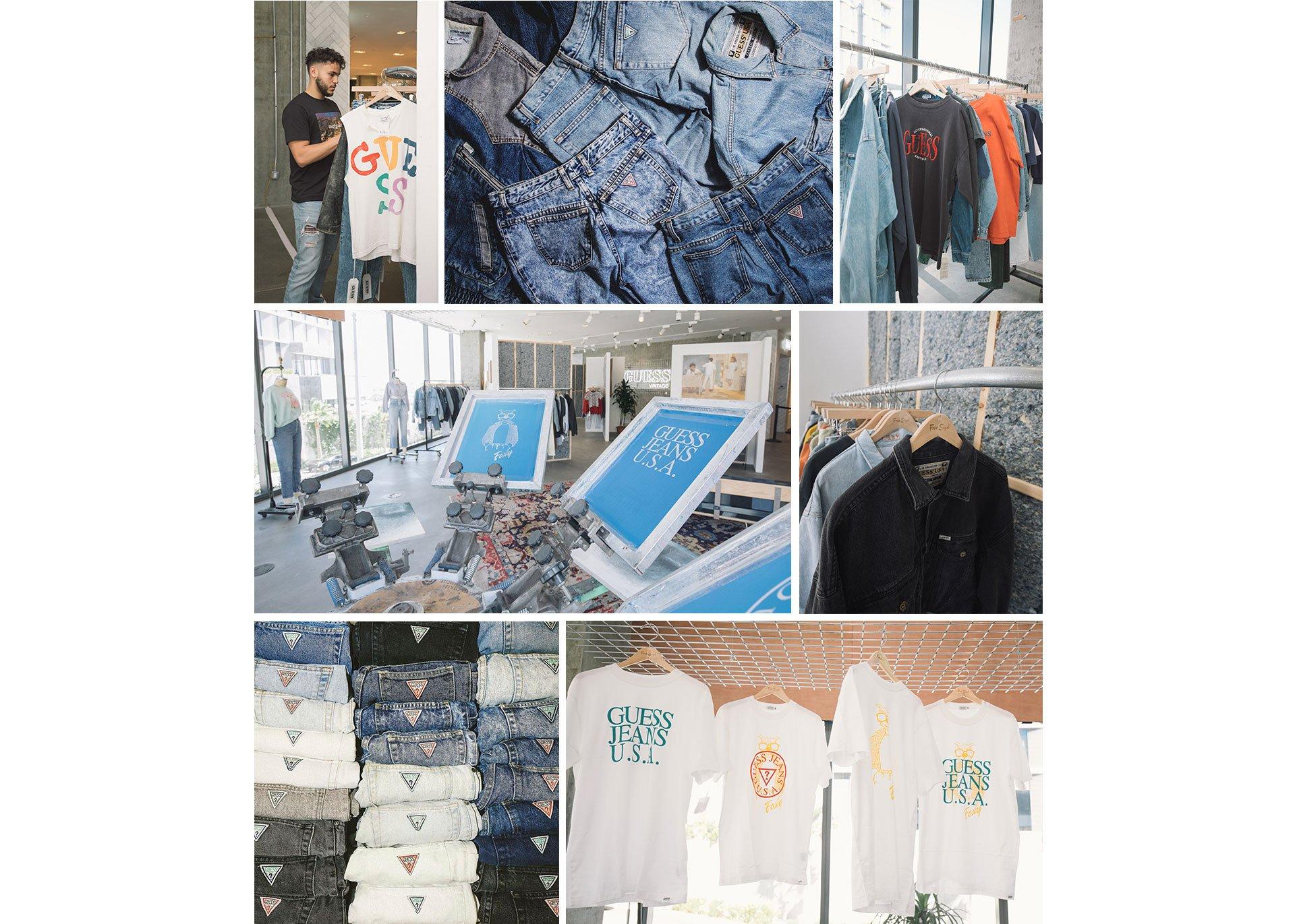GUESS Jeans U.S.A Fred Segal