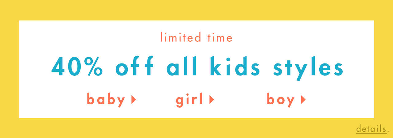 30 Off All Kids Styles