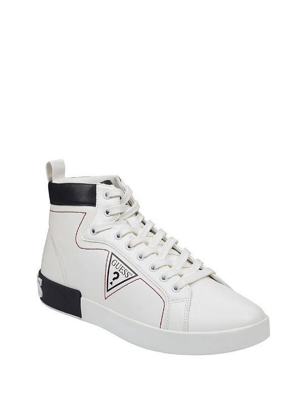 7acc22c469bf Almond Logo High-Top Sneakers