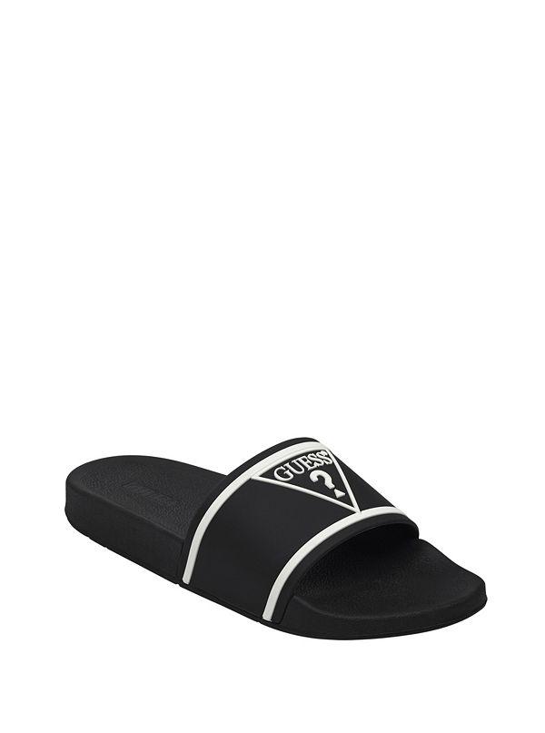 20e052a7c50b Enelo Padded Logo Slide Sandals. 49.00 CAD. GMERIN