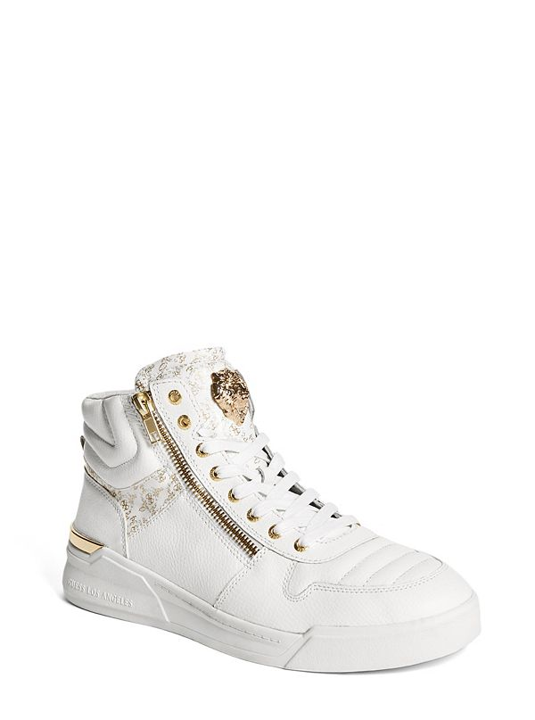 3ad0b94e7 Knight Zipper High-Top Sneakers