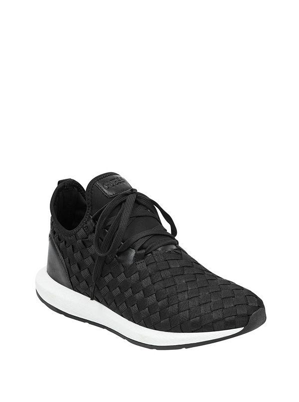 GUESS Zella Woven Sneaker fe07sLkTR