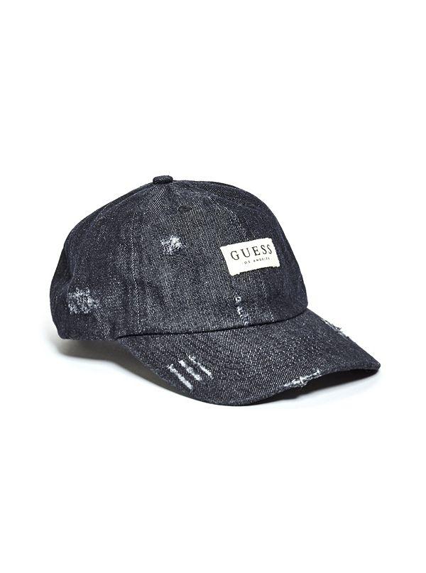 c0c108f3e38 Denim Logo Baseball Hat