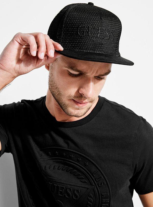b41258998bd Mesh Logo Snapback Hat