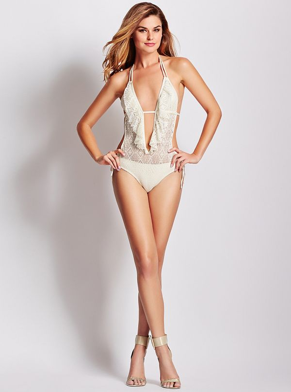 55d617b73f5d Flirty Little Secret Skimpy One-Piece Swimsuit | GUESS.com