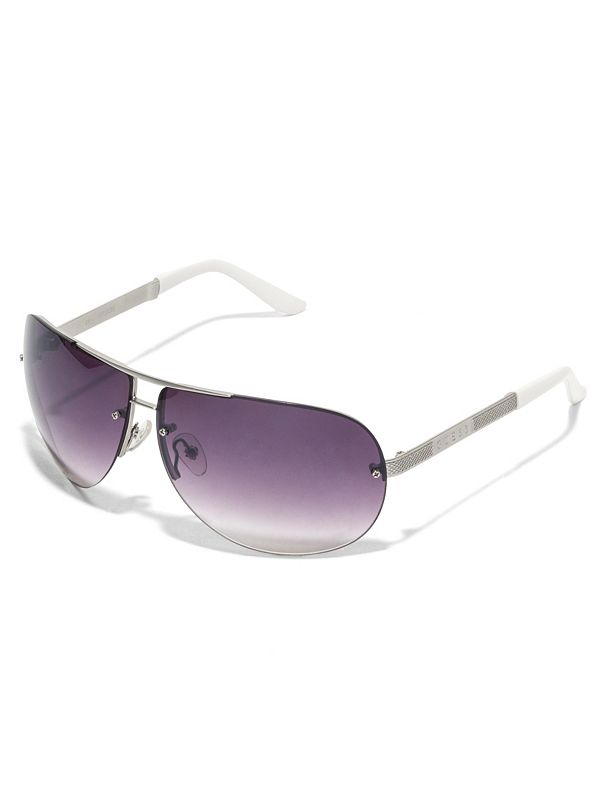 7ed9ff99b4 Rimless Large Aviator Sunglasses