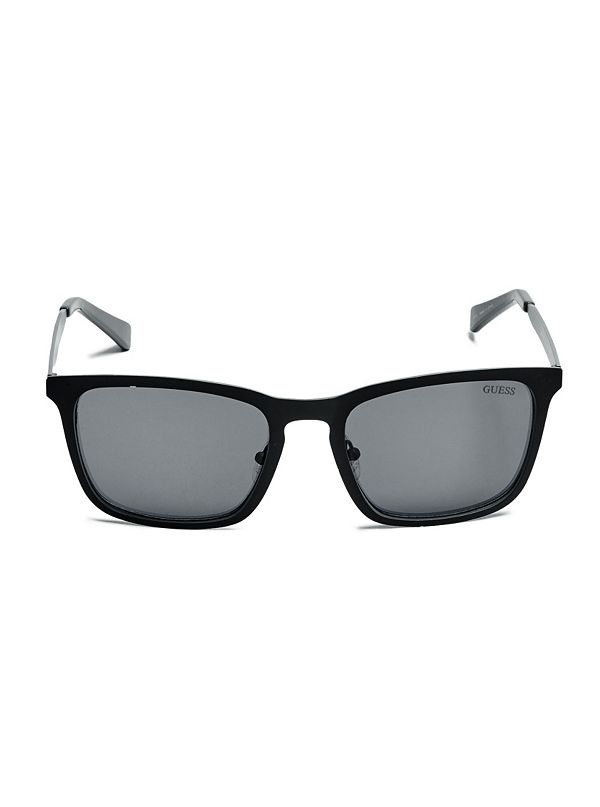 0021f28b6 Colton Matte Square Sunglasses | GUESS.com