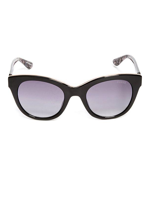 e73c507fc3 Metal-Trim Cat-Eye Sunglasses